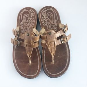 Women's OluKai leather sandals